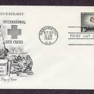 100th Anniversary International Red Cross 1963 First Issue USA