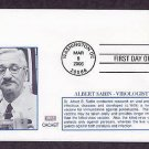 Dr. Albert Sabin, First to Develop the Oral Polio Vaccine, Medicine 2006 First Issue USA
