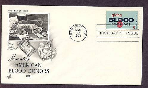 Blood Donors Red Cross Nurse, Blood Bag, Saving Lives, First Issue USA