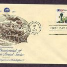 U.S. Postal Service, USPS Bicentennial, Locomotives, First Issue USA