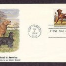 Chesapeake Bay Retriever, Cocker Spaniel, American Kennel Club Centennial Fleet. First Issue