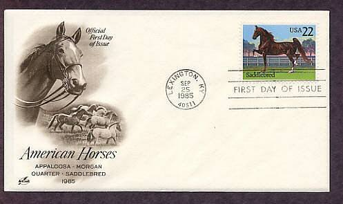 American Saddlebred Horse, Lexington, Kentucky, First Issue USA