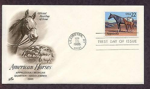 Appaloosa Horse, Lexington, Kentucky, First Issue USA