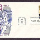 USPS Postal People, Mail Letter Case Sorting, FW First Issue USA