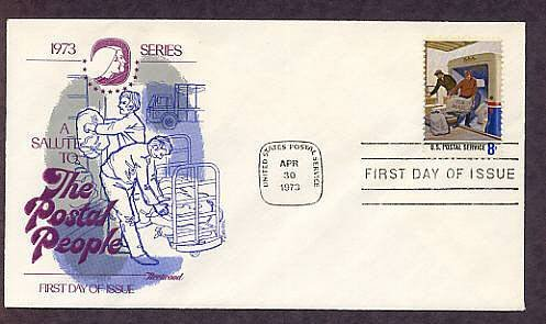 Honoring USPS Postal People, Mail Handlers, First Issue USA