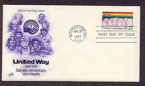 100th Anniversary, United Way, First Day of Issue USA