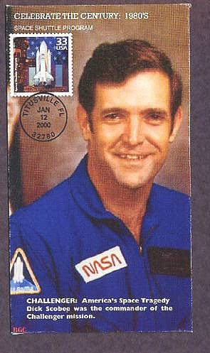space shuttle challenger first day cover - photo #30