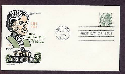 Honoring Alice Hamilton, M.D., Industrial Medicine, First Issue USA