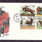 Sporting Horses, Steeplechase, Thoroughbred Racing, Harness Racing,  Polo, First Issue USA