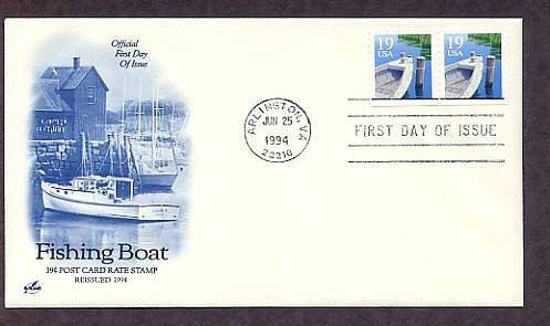 Fishing Boat, First Issue USA