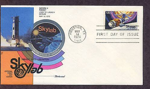 NASA Space Skylab Mission, Houston, Texas Fleetwood C First Issue USA