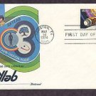 NASA Space Skylab Mission, Houston, Texas Fleetwood B First Issue USA