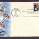 NASA Space Skylab Mission, Houston, Texas Philatelic Society  First Issue USA