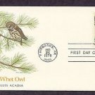 American Owls, Saw-wet Owl, Aegolius acadicus, First Issue USA