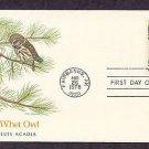 American Owls, Saw-wet Owl, Aegolius acadicus, First Issue USA