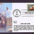 Lewis and Clark Expedition First Issue FDC USA