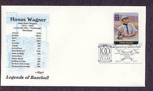 Honus Wagner, Baseball Legend, Shortstop, First Issue USA