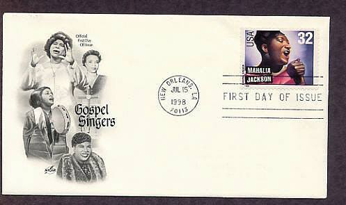 Gospel Singers, Mahalia Jackson, First Issue USA