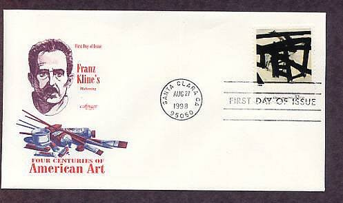 American Art, Mahoning by Franz Kline, First Issue USA