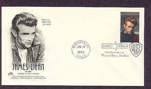 Honoring James Dean, Hollywood Legend, First Issue USA