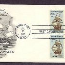 400th Anniversary Roanoke Voyages New World, Sir Walter Raleigh, North Carolina First Issue