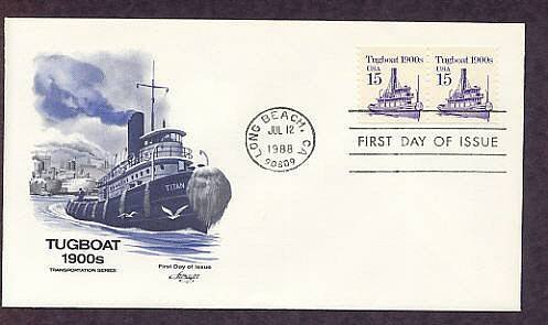 Tugboat 1900s, AM First Issue USA