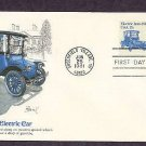 Detroit Electric Auto 1917, Transportation Series, First Issue USA