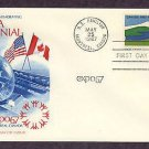 Expo 67, Canada Centennial, United States Pavilion, USA First Issue