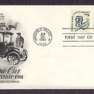Detroit Electric Auto 1917, Transportation Series, AC First Issue USA