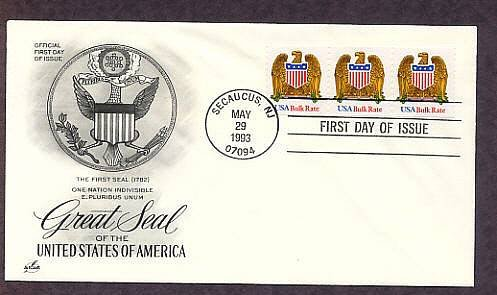 Great Seal of the United States of America, Eagle, First Issue USA