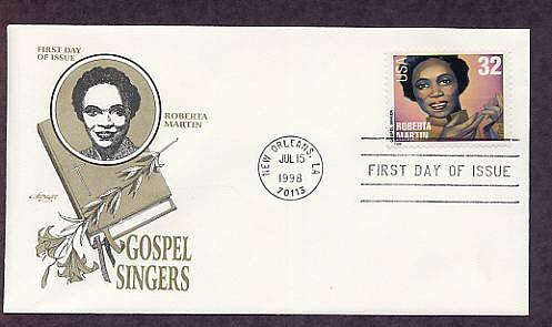Gospel Singers, Roberta Martin, First Issue USA
