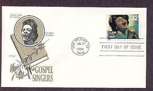 Gospel Singers, Clara Ward, First Issue USA
