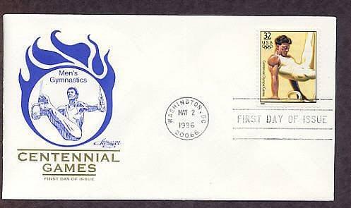 Atlanta 1996 Centennial Olympic Games, Men's Gymnastics, First Issue USA