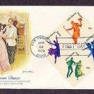 American Dance, Dancers, Modern, Folk, Theater, Ballet, FW First Issue USA