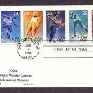 1994 Winter Olympics, Slalom, Luge, Ice Dancing, Cross-Country Skiing, Ice Hockey, 1994 First Issue