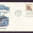 Cable Car 1880s, AM First Day of Issue USA