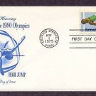 1980 Olympics, High Jump, First Issue USA