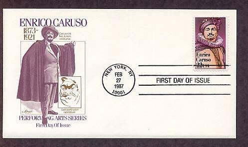 Enrico Caruso, Operatic Italian Tenor, Opera, AM First Issue USA
