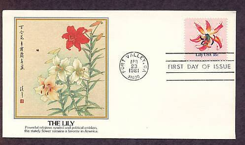 Lilly, First Issue USA