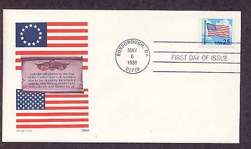 The American Flag, A Salute to Old Glory, AM First Issue USA