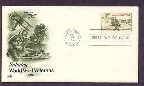 Honoring World War I Veterans, First Issue USA