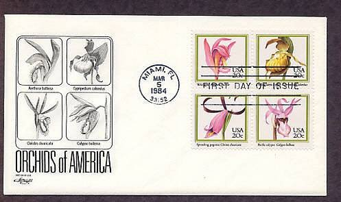 Native American Orchids, First Issue USA