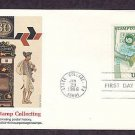 Stamp Collecting, Early Mail Box and Postal Mailbag Carriers of Brazil, First Issue FDC USA