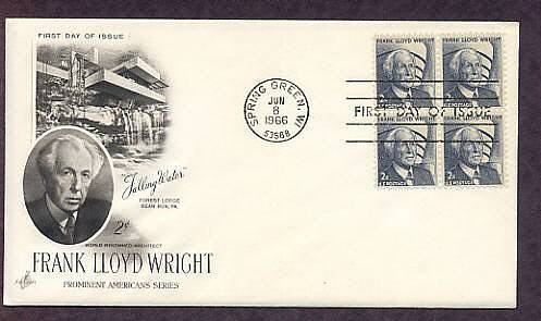 Architecture, Frank Lloyd Wright, Fallingwater, First Issue USA