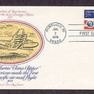 U.S. Airmail, China Clipper, Glenn L. Martin, First Issue FDC