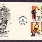 Summer Olympics 1984, Women's Gymnastics, Hurdles, Women's Basketball, Soccer, First Issue USA