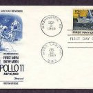 Apollo 11 Space, First Man on Moon, NASA, 1969 Fleetwood  First Issue USA