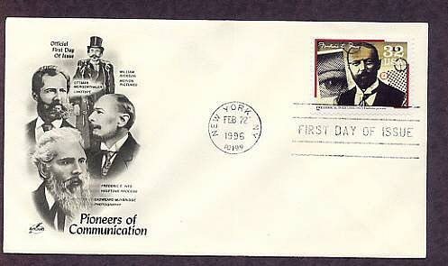 Pioneers of Communication, Honoring Frederic E. Ives, Halftone Process, First Issue USA