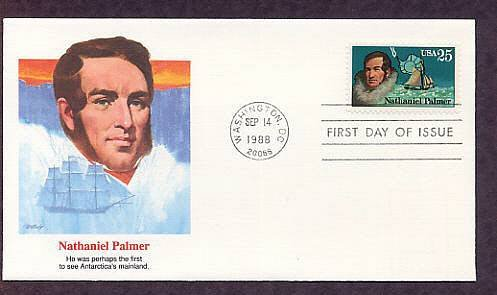 Antarctic Explorers, Nathaniel Palmer, FW First Issue USA