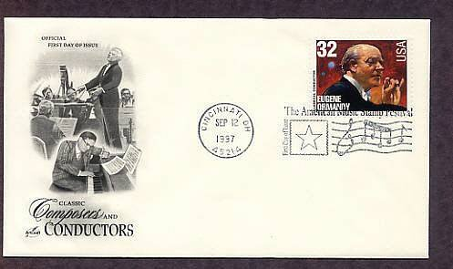 Honoring Classical Conductor Eugene Ormandy, First Issue USA